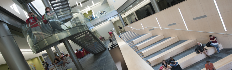 inside the business and engineering center