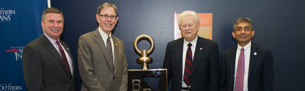Dedication of Beta Gamma Sigma Key