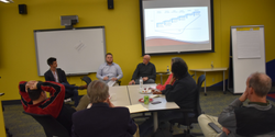 Eagle Innovation Accelerator biweekly workshop discussion